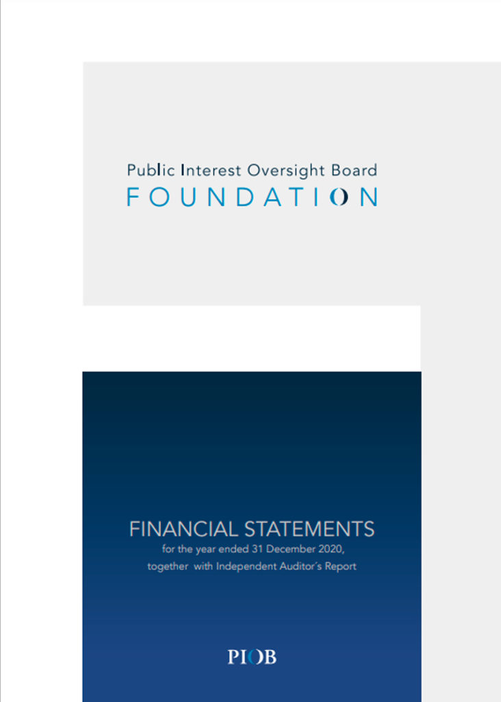 PIOB public statements 2020